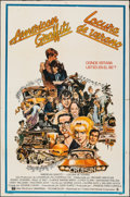 "Movie Posters:Comedy, American Graffiti (Universal, 1973). Folded, Fine/Very Fine. Argentinean One Sheet (29"" X 43""). Mort Drucker Artwork. Comedy..."