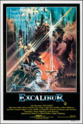 "Movie Posters:Fantasy, Excalibur (Warner Bros., 1981). Folded, Very Fine-. Australian One Sheet (27"" X 40""). Bob Peak Artwork. Fantasy.. ..."