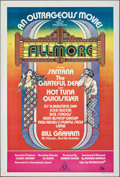 """Movie Posters:Rock and Roll, Fillmore (20th Century Fox, 1972). Folded, Very Fine-. Australian One Sheet (27"""" X 40""""). David Byrd Artwork. Rock and Roll...."""