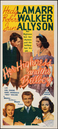 "Movie Posters:Comedy, Her Highness and the Bellboy (MGM, 1945). Folded, Very Fine. Australian Daybill (13.5"" X 30""). Comedy.. ..."