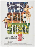 "Movie Posters:Academy Award Winners, West Side Story (United Artists, R- Late 1970s). Folded, Very Fine. French Grande (47"" X 63"") Academy Award Winners.. ..."