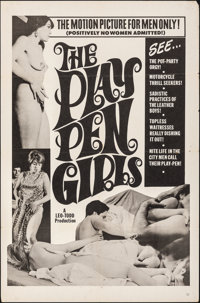 """Playpen Girls & Other Lot (Leo-Todd, 1967). Folded, Fine/Very Fine. One Sheets (3) (27"""" X 41"""" - 30&quo..."""