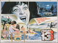 """Movie Posters:Horror, Friday the 13th (Paramount, 1980). Folded, Fine+. British Quad (30"""" X 40""""). Horror.. ..."""