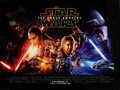 "Movie Posters:Science Fiction, Star Wars: Episode VII - The Force Awakens (Walt Disney Studios, 2015). Rolled, Very Fine. British Quad (30"" X 40"") DS Advan..."