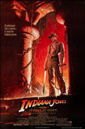 "Movie Posters:Adventure, Indiana Jones and the Temple of Doom (Paramount, 1984). Rolled, Very Fine+. One Sheet (27"" X 41"") Style A, Bruce Wolfe Artwo..."