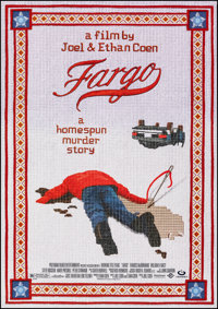 "Fargo (Polygram, 1996). Rolled, Very Fine/Near Mint. One Sheet (27"" X 40"") DS. Crime"