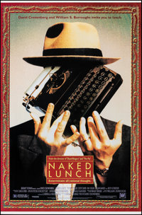 """Naked Lunch & Other Lot (20th Century Fox, 1991). Rolled, Very Fine+. One Sheets (2) (27"""" X 41"""" X 27""""..."""