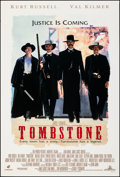 "Movie Posters:Western, Tombstone (Buena Vista, 1993). Rolled, Very Fine. One Sheet (27"" X 40"") DS. Western.. ..."