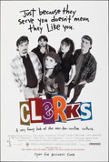 "Movie Posters:Comedy, Clerks (Miramax, 1994). Rolled, Very Fine/Near Mint. One Sheet (27"" X 40"") SS, Advance. Comedy.. ..."
