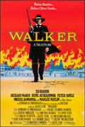 "Movie Posters:Action, Walker & Other Lot (Universal, 1987). Folded, Fine/Very Fine. Autographed One Sheets (2) (26.75"" X 39.75"" & 27"" X 41""..."