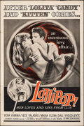 """Movie Posters:Sexploitation, Lollipop & Other Lot (Times, 1969). Folded, Fine+. One Sheets (2) (27"""" X 41"""") & Lobby Cards (5) (11"""" X 14""""). Sexploitation.... (Total: 7 Items)"""