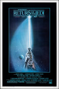 "Movie Posters:Science Fiction, Return of the Jedi (20th Century Fox, 1983). Rolled, Very Fine+. One Sheet (27"" X 41"") Style A, Tim Reamer Artwork. Science ..."