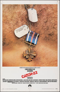 """Catch-22 & Other Lot (Paramount, 1970). Folded, Overall: Fine/Very Fine. One Sheets (2) (27"""" X 41""""), T..."""
