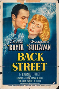 "Back Street (Universal, 1941). Folded, Fine. One Sheet (27"" X 41""). Drama"
