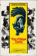 """Movie Posters:Horror, Cat O' Nine Tails (National General, 1971). Folded, Fine+. One Sheet (27"""" X 41""""). Horror.. ..."""