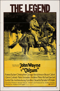 "Chisum (Warner Bros., 1970). Folded, Fine. One Sheet (27"" X 41""). Western"