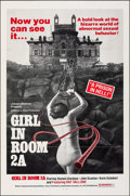 """Movie Posters:Horror, Girl in Room 2A & Other Lot (Joseph Brenner Associates, 1974). Folded, Very Fine. One Sheets (3) (27"""" X 41""""). Horror.. ... (Total: 3 Items)"""