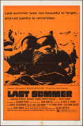 "Movie Posters:Drama, Last Summer (Allied Artists, 1969). Folded, Very Fine-. One Sheet (27"" X 41""). Drama.. ..."
