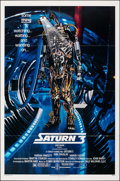 """Movie Posters:Science Fiction, Saturn 3 & Other Lot (Associated Film, 1980). Folded, Very Fine-. One Sheets (4) (27"""" X 41""""). Science Fiction.. ... (Total: 4 Items)"""