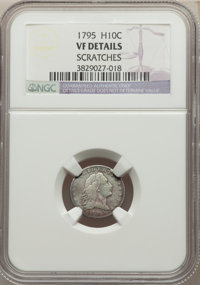 1795 H10C -- Scratches -- NGC Details. VF. Mintage 78,600. ...(PCGS# 4251)