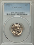 Buffalo Nickels: , 1931-S 5C MS65 PCGS. PCGS Population: (1840/583). NGC Census: (744/75). CDN: $215 Whsle. Bid for NGC/PCGS MS65. Mintage 1,2...