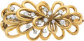 Estate Jewelry:Brooches - Pins, Diamond, Platinum, Gold Clip-Brooch, Van Cleef & Arpels. ...