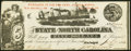 Obsoletes By State:North Carolina, Raleigh, NC- State of North Carolina $5 Jan. 1, 1863 Cr. 124 Crisp Uncirculated.. ...