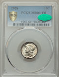 1928 10C MS66+ Full Bands PCGS. CAC. PCGS Population: (162/42 and 10/6+). NGC Census: (46/8 and 5/1+). CDN: $450 Whsle...