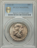 1953-D 50C MS65 Full Bell Lines PCGS. PCGS Population: (1536/200). NGC Census: (459/28). CDN: $70 Whsle. Bid for NGC/PCG...