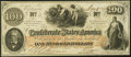 Confederate Notes:1862 Issues, T41 $100 1862 PF-22 Cr. 320A Choice Crisp Uncirculated.. ...