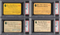 Baseball Collectibles:Tickets, 1918-39 BBWAA Season Pass Lot of 20 Issued to Francis J. Powers.... (Total: 20 items)