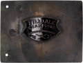 Baseball Collectibles:Others, 1923 Hilldale Giants Eastern Colored League Championship Belt Buckle....