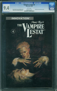 The Vampire Lestat #4 (Innovation Publishing, 1990) CGC NM 9.4 White pages