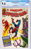 Silver Age (1956-1969):Superhero, The Amazing Spider-Man #21 (Marvel, 1965) CGC NM+ 9.6 Off-white to white pages....