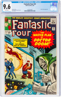 Fantastic Four #23 (Marvel, 1964) CGC NM+ 9.6 White pages