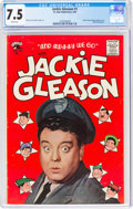 Golden Age (1938-1955):Humor, Jackie Gleason #1 (St. John, 1955) CGC VF- 7.5 White pages....