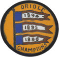 Baseball Collectibles:Others, Circa 1897 Baltimore Orioles Championship Button....
