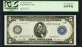 Fr. 855a $5 1914 Federal Reserve Note PCGS Very Choice New 64PPQ