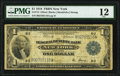 Fr. 713 $1 1918 Federal Reserve Bank Note PMG Fine 12