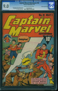 Golden Age (1938-1955):Superhero, Captain Marvel Adventures #10 - Crowley Copy/File Copy (Fawcett Publications, 1942) CGC VF/NM 9.0 Cream to off-white pages.