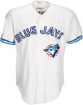 Baseball Collectibles:Uniforms, 1994 Toronto Blue Jays Game Worn Jersey from The Devon White Collection. ...