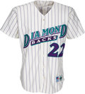 Baseball Collectibles:Uniforms, 1998 Arizona Diamondbacks Game Worn Jersey - Team's First All-Star from The Devon White Collection. ...