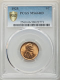 1925 1C MS66 Red PCGS. PCGS Population: (367/76 and 17/11+). NGC Census: (102/27 and 1/1+). CDN: $225 Whsle. Bid for NGC...