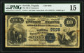Norfolk, VA - $10 1882 Value Back Fr. 577 The National Bank of Commerce Ch. # (S)6032 PMG Choice Fine 15