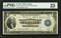 Fr. 726 $1 1918 Federal Reserve Bank Note PMG Very Fine 25