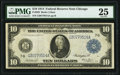 Large Size:Federal Reserve Notes, Fr. 929 $10 1914 Federal Reserve Note PMG Very Fine 25.. ...