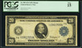 Large Size:Federal Reserve Notes, Fr. 989 $20 1914 Federal Reserve Note PCGS Fine 15.. ...