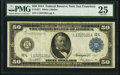 Large Size:Federal Reserve Notes, Fr. 1071 $50 1914 Federal Reserve Note PMG Very Fine 25.. ...