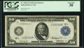 Fr. 1068 $50 1914 Federal Reserve Note PCGS Very Fine 30