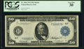 Large Size:Federal Reserve Notes, Fr. 1046 $50 1914 Federal Reserve Note PCGS Very Fine 30.. ...